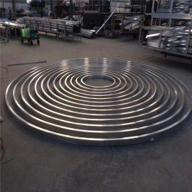 铝合金型材铝方管 金属型材铝方管区别