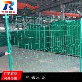 昆明高速公路浸塑双边丝防护护栏网