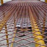 鋼性腳踏菱形網  建築高層防護網  鋼芭片
