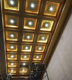 仿古建筑天花板 铝合金材料厂家 中式梁托