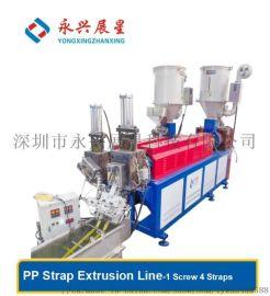 专业订做  款智能  PP打包带生产线 包装机器设备厂家直销