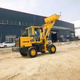 四驱多功能小型装载机 工程柴油铲车 建筑工地推土机