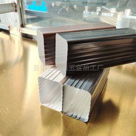 广西高层建筑用外墙排水管 铝合金方管生产厂家