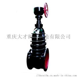 Z545T-10大口径铸铁法兰闸阀