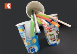 16 OZ 一次性饮料杯 PP注塑加厚塑料杯