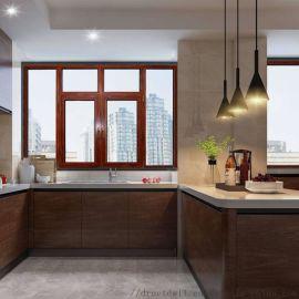德鲁特门窗平开窗断桥铝门窗120系统窗