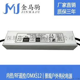 RGBW四路恒流DMX512外控驱动电源