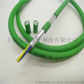 工业profinet以太网线_PN通讯电缆网线