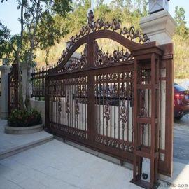 台江县铝艺欧式大门铁艺围墙护栏加工工艺