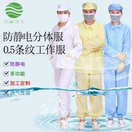 防静电分体服  食品厂工作服  药厂无尘服