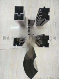 贵州304不锈钢异形管,拉丝不锈钢扇形管