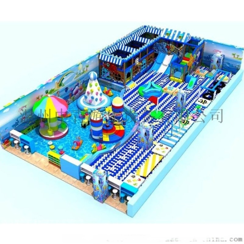 臨沂兒童室內樂園設備 廠家定製淘氣堡設備 歡迎諮詢