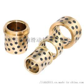 石墨铜套规格型号,自润滑铜套价格,无油铜套尺寸