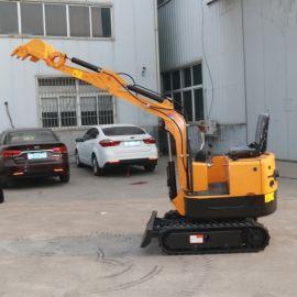 乡村修路挖掘机 迷你型挖坑机 小型挖沟机推土铲