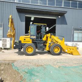 轮式挖掘机 前推后挖两头忙 多功能装载机 可定制