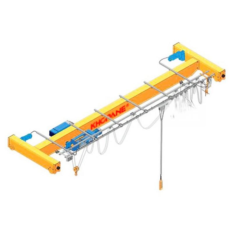 2t歐式單樑懸掛起重機雙樑行車懸掛起重機3T葫蘆