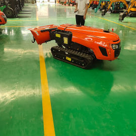 田园管理机 厂家多功能履带式施肥机 履带苗圃耕整机
