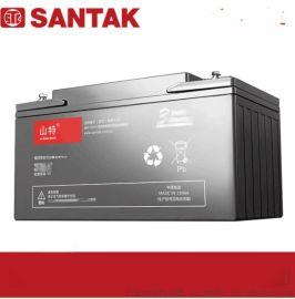 山特蓄电池城堡C12-65AH免维护密闭铅酸蓄电池