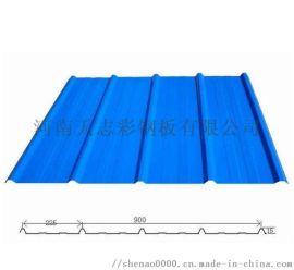 河南郑州 5125型彩钢瓦YX51-250-750