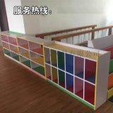 幼儿园彩色柜子,木质教具柜,区角玩具柜儿童