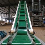 長治土豆裝車輸送機 大傾角綠色裙邊格擋傳送機Lj8