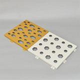 圆孔铝单板厂家直销幕墙铝板装饰材料规格定制
