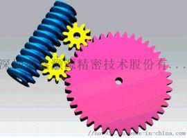 单蜗杆双蜗轮双倍自锁力结构设计