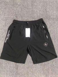 探旅者速干短裤男式动休闲裤纯黑色一线品牌折扣男装