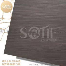 不锈钢镀铜厂家 不锈钢拉丝发黑红古铜板