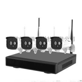 4路NVR无线网络监控套装1080P多画面监控即插即用摄像头海思高速处理器 深圳SrihomeNVS001海思高速处理器