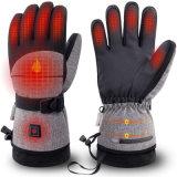 電加熱手套摩托車可充電防水保暖手套男女冬天戶外裝備