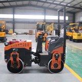 全液压1吨压实机 小型座驾式压路机 双钢轮压土机