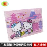 出口日本PP文件袋按扣袋四合扣收納文件袋卡通圖案