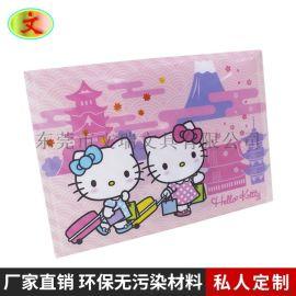 出口日本PP文件袋按扣袋四合扣收纳文件袋卡通图案