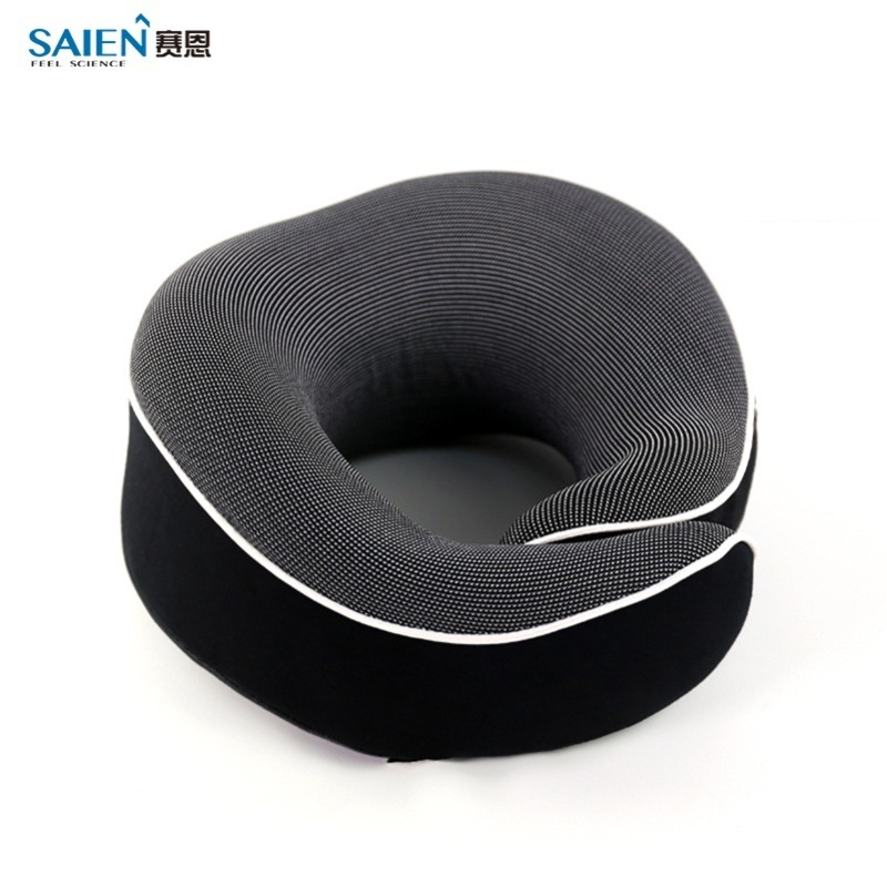 记忆棉旅行颈枕带耳塞眼罩收纳袋飞机和汽车用护颈枕