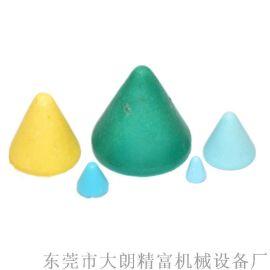厂家直销15*15绿色圆锥树脂金属抛光研磨石