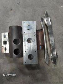 不锈钢管材电动冲孔机设备方管圆管防盗网冲孔机冲弧机