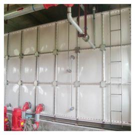 全自动承压式储水箱 霈凯环保 玻璃钢消防水箱