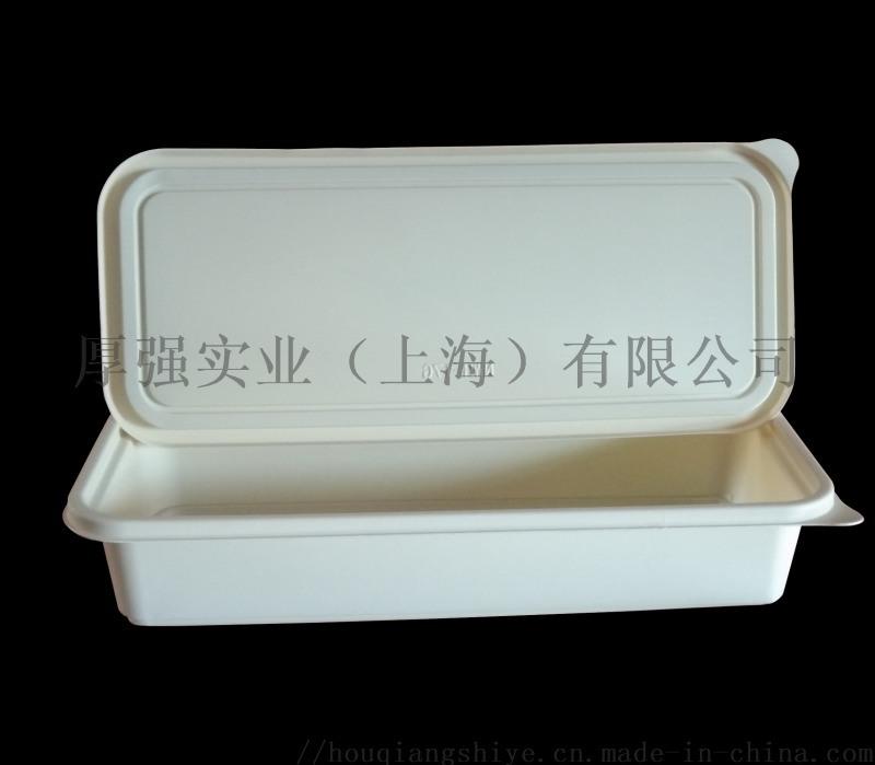 一格玉米澱粉可降解便當盒