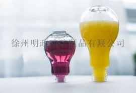 灯泡饮料瓶奶茶灯泡玻璃瓶酸奶杯果汁饮料瓶