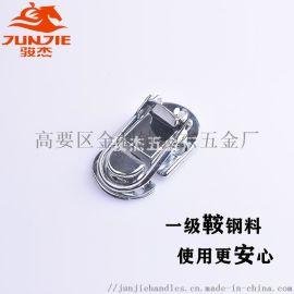 箱包配件广告箱包扣化妆箱锁扣铁镀铬锁扣 J412