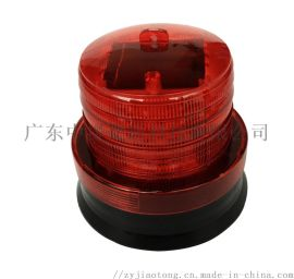 厂家直销磁吸太阳能LED警示灯道路施工