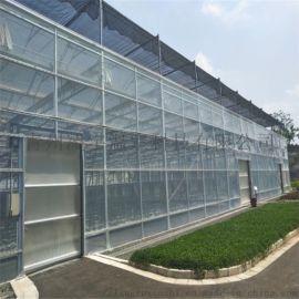 青州凌宇温室专业建设玻璃温室大棚造价