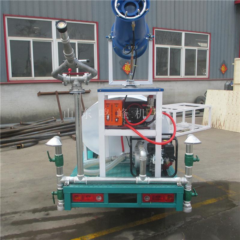 厂家直销工地三轮洒水车,小型48V电动雾炮洒水车