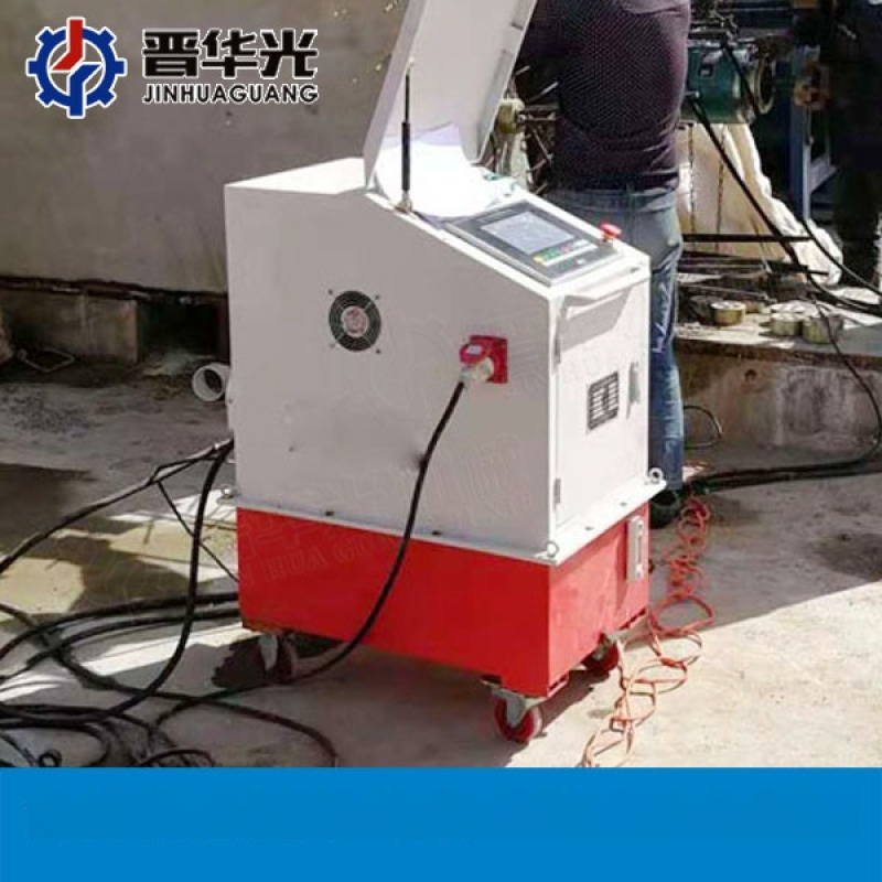 贵州黔东南预制箱梁智能张拉机具_智能千斤顶油泵