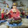 三十三观音菩萨生产厂家,玻璃钢三十三观音雕塑厂家
