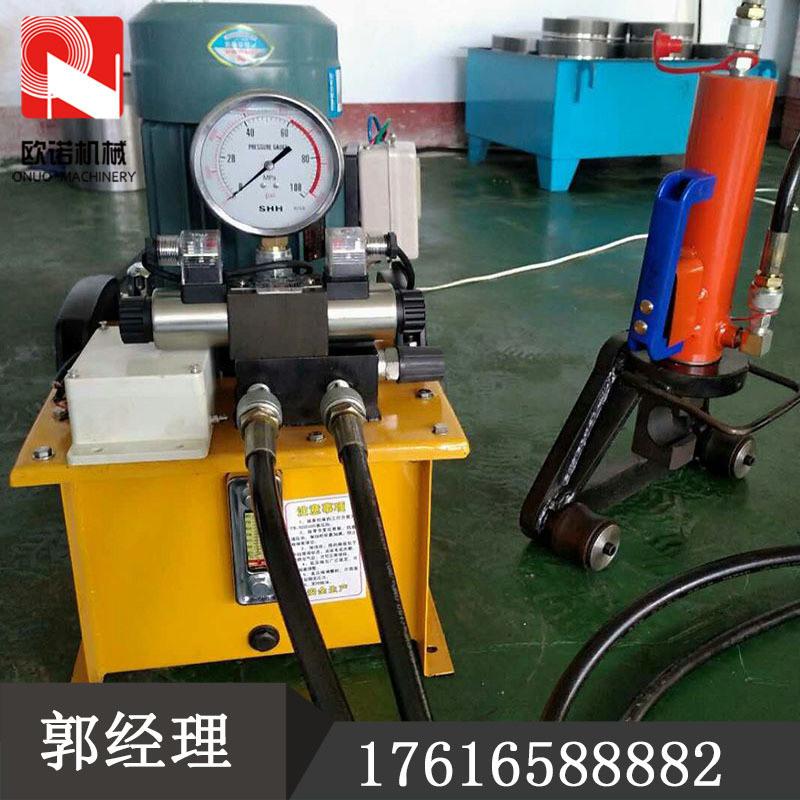 手提式鋼筋彎曲機 32型鋼筋折彎機小型分體式彎曲機