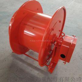 弹簧发条式工业电缆卷筒卷线器  电磁吸盘卷线器