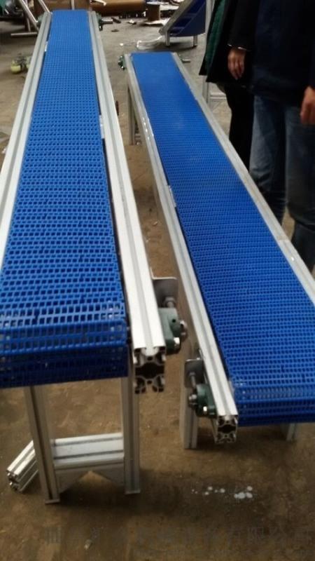 输送线铝型材 大豆输送机 六九重工 爬坡送料机价格