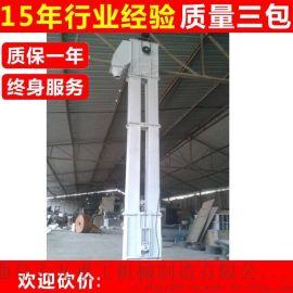 垂直上料机  瓦斗带式提升机 钢斗式给料机